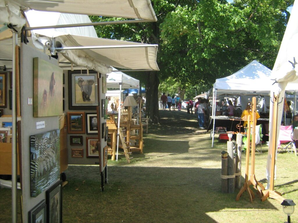 outdoors craft show
